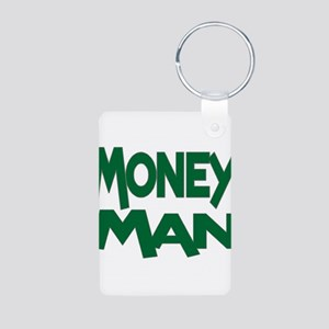 Money Man Aluminum Photo Keychain