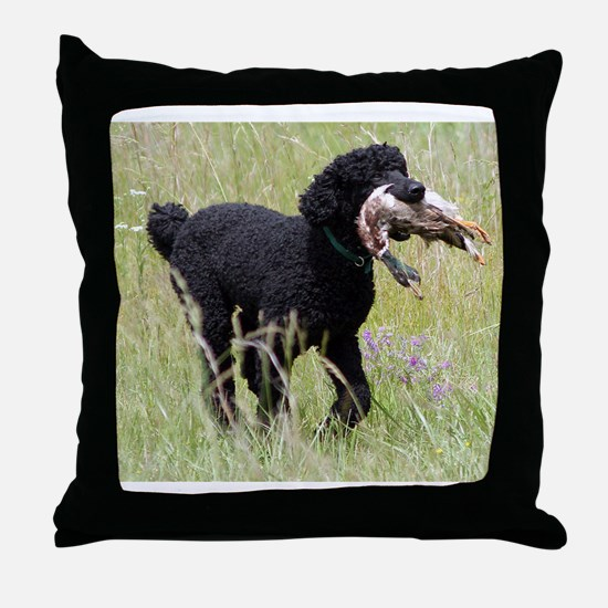 This Dog Can Hunt Throw Pillow