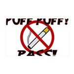 Puff Puff Pass 35x21 Wall Decal
