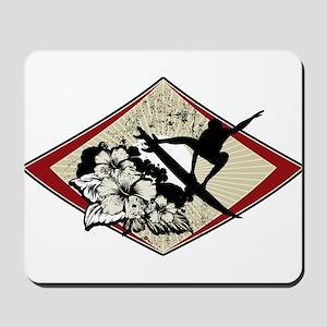 Hibiscus Surf Mousepad