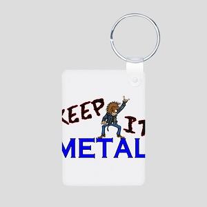Keep It Metal Aluminum Photo Keychain
