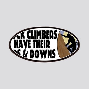 Rock Climbers Patches