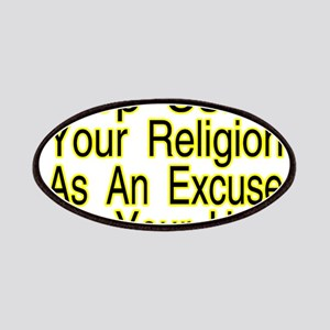 Stop Using Religion Patches
