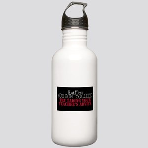 If At First You Don't Succeed - Black Water Bottle