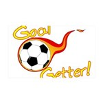 Goal Getter 35x21 Wall Decal