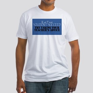 If At First You Don't Succeed - Blue T-Shirt