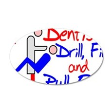 Dentists Drill Wall Decal
