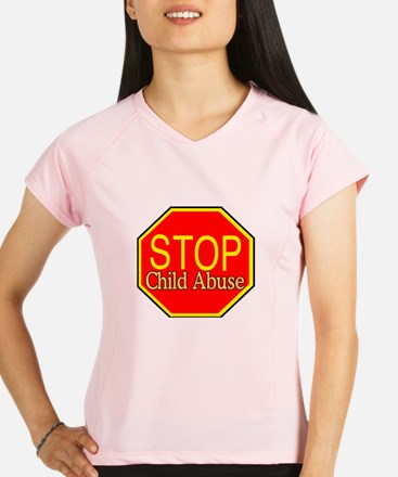 Stop Abuse Performance Dry T-Shirt