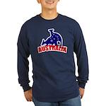 Australia Long Sleeve Dark T-Shirt