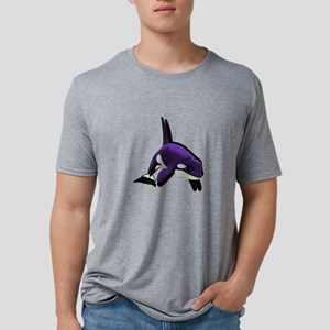 SHADES OF PURPLE Mens Tri-blend T-Shirt
