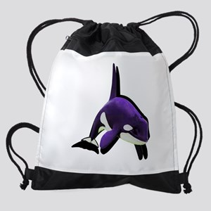 SHADES OF PURPLE Drawstring Bag