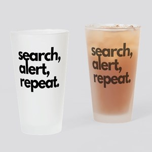 Search Alert Repeat Pint Nosework Drinking Glass