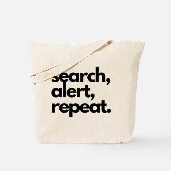 Nosework Tote Bag Search Alert