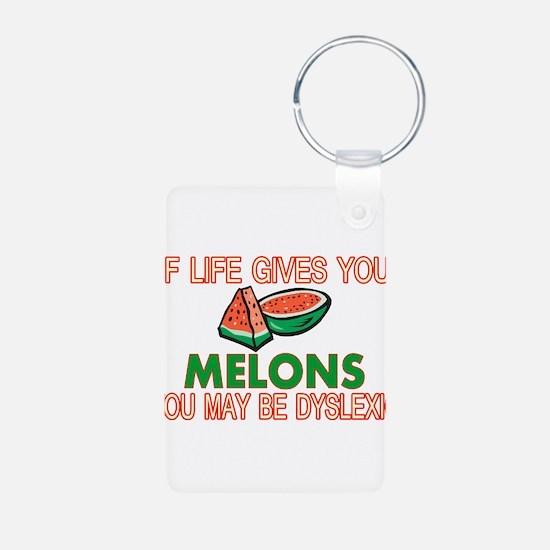 Dyslexic Melons Keychains