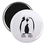Multilingual Penguins Magnet