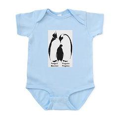 Multilingual Penguins Infant Bodysuit