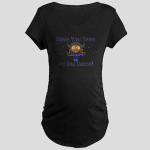 Gnu Dance Maternity Dark T-Shirt