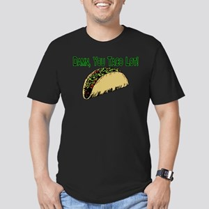 Taco Lot Men's Fitted T-Shirt (dark)