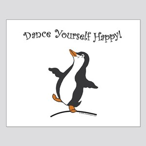 Dancing Penguin Small Poster