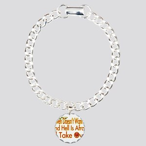 Heaven And Hell Charm Bracelet, One Charm