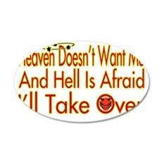Heaven And Hell Wall Decal