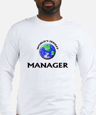 World's Sexiest Manager Long Sleeve T-Shirt
