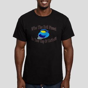 Coffee Piss Men's Fitted T-Shirt (dark)