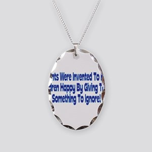 Parents Were Invented Necklace Oval Charm