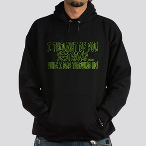 Thought Of You Hoodie (dark)
