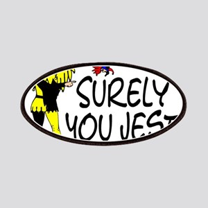 Surely You Jest Patches