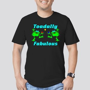 Toadally Fabulous Men's Fitted T-Shirt (dark)