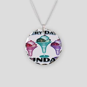 Sundae Everyday Necklace Circle Charm