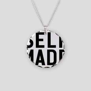 Self Made Necklace Circle Charm