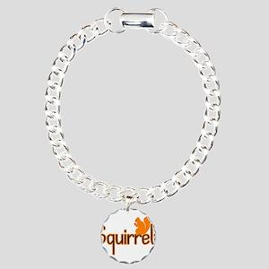 Squirrely Charm Bracelet, One Charm