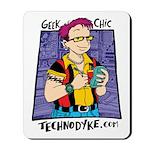Geek Chic Mousepad - $10 Donation