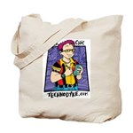Geek Chic Tote Bag - $10 Donation