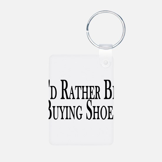 Rather Buy Shoes Keychains