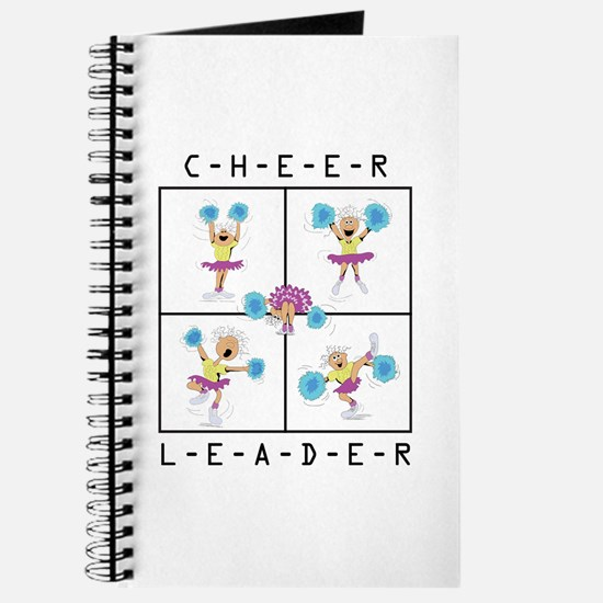 Funny Cheerleader Journal