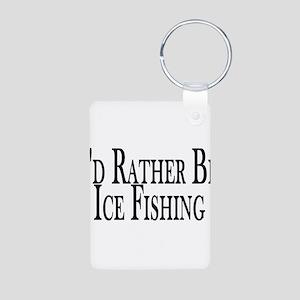 Rather Ice Fish Aluminum Photo Keychain