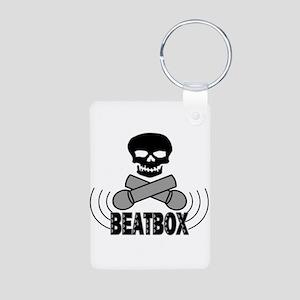 Beatbox Aluminum Photo Keychain