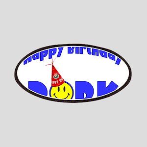 Happy Birthday Dork Patches
