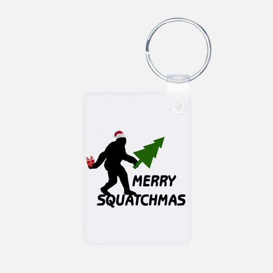 Merry Squatchmas Keychains
