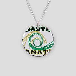 Coaster Fanatic Necklace Circle Charm