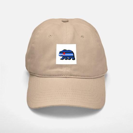 LEATHER BEAR/BLK SHADOW Baseball Baseball Cap