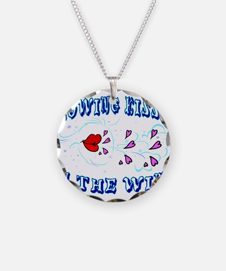 Blowing Kisses Necklace