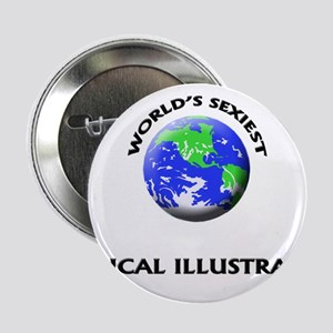 """World's Sexiest Medical Illustrator 2.25"""" Button"""