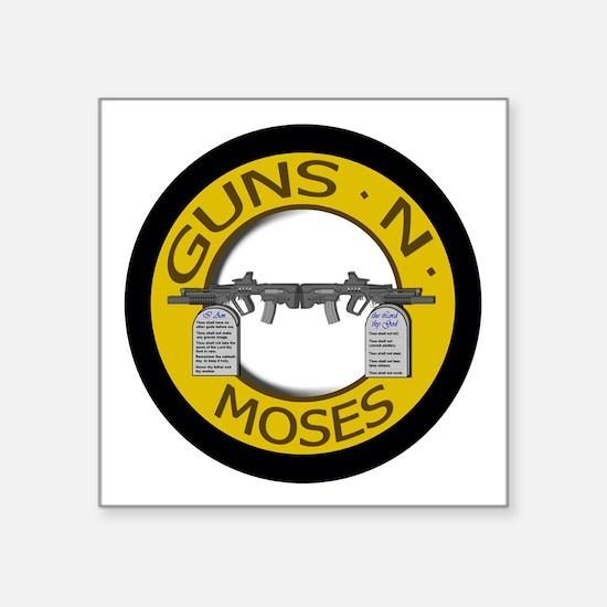Guns N Moses Sticker