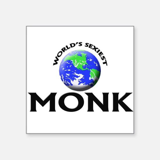 World's Sexiest Monk Sticker