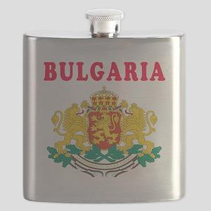 Bulgaria Coat Of Arms Designs Flask