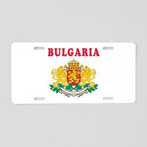 Bulgaria Coat Of Arms Designs Aluminum License Pla